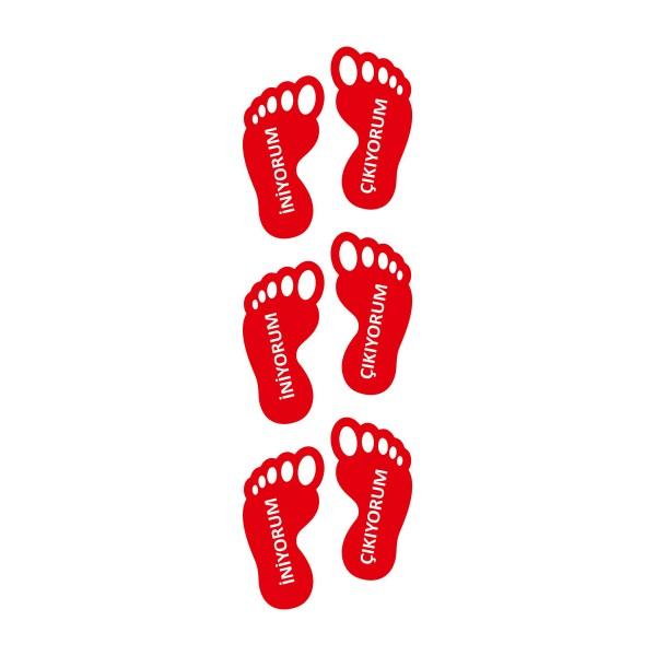 ayak izi sticker 04