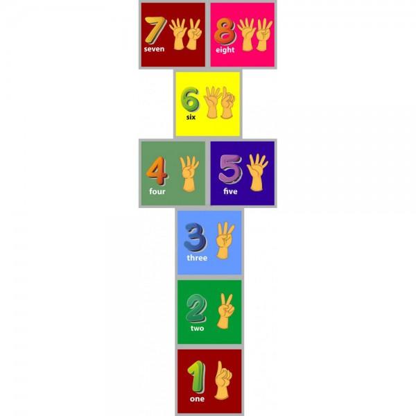 Sek Sek Oyunu - Sayılar (İngilizce) 01