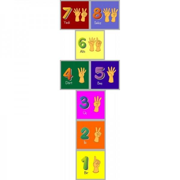 Sek Sek Oyunu - Sayılar (türkçe) 02